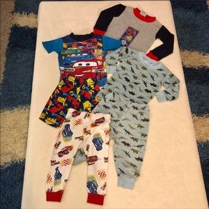 Other - Lot of Boys Pajamas Size 2T GUC